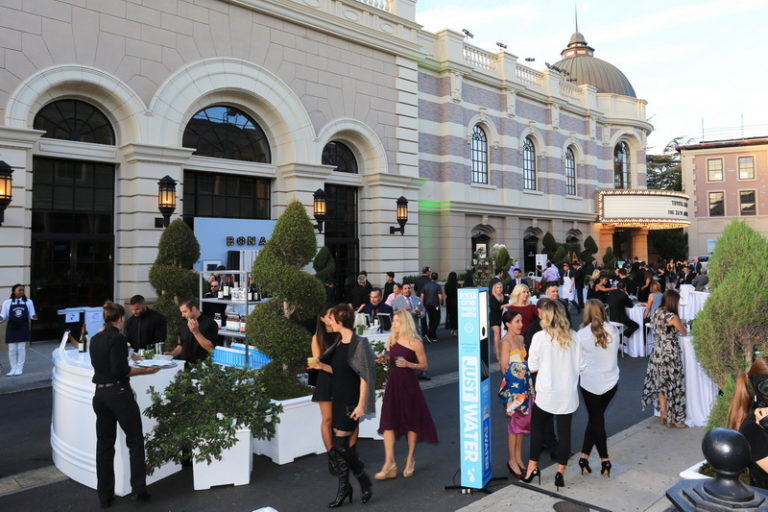 A Hollywood Charity Event: Crystal Clear Design